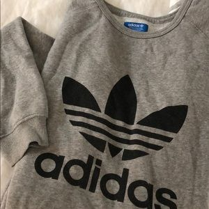 Over sized Adidas Sweatshirt